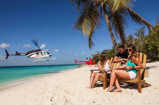 Isla Saona VIP en Helicóptero