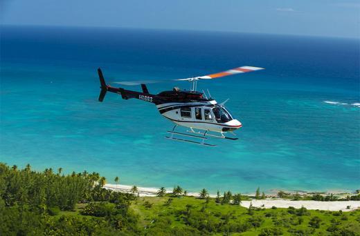 Passeio em Helicóptero