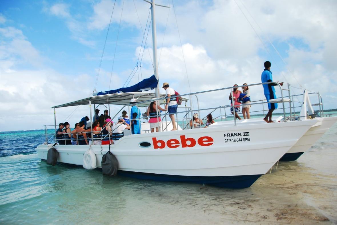 Bebe Catamaran Excursion in Punta Cana
