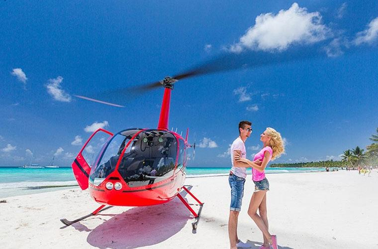 Saona Island VIP by Helicopter Tour