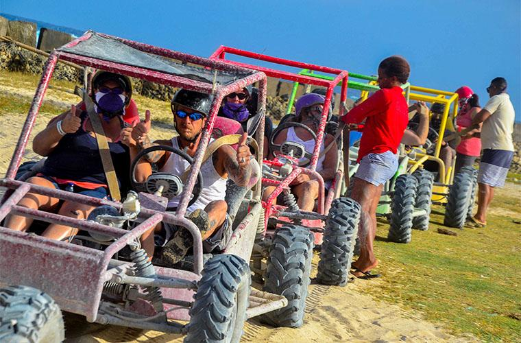 Buggy + Zipline Mega Splash Excursion in Punta Cana