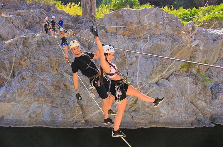 Zip Line and Polaris Adventure